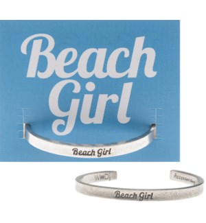 QUOTECUFF/Beach Girl on Card