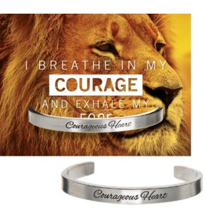 QUOTECUFF/Courageous on Card