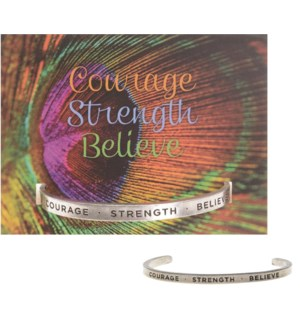 QUOTECUFF/Courage Stren w Card