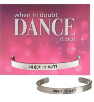 QUOTECUFF/Dance It Out on Card