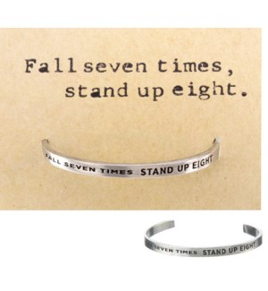 QUOTECUFF/Fall Seven on Card
