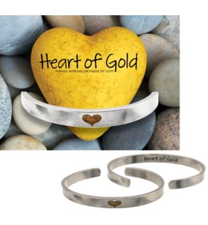QUOTECUFF/Heart Gold Narr w Cd