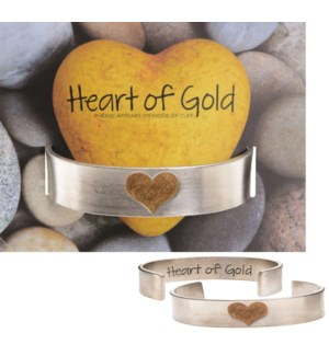 QUOTECUFF/Heart Gold Wide w Cd
