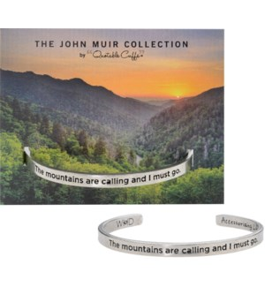 QUOTECUFF/Mountain Call w Card