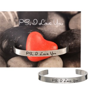 QUOTECUFF/PS Love you on Card