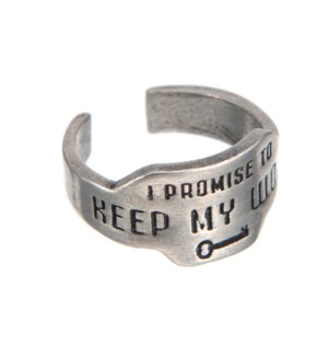 RING/Keep My Word Promise Ring