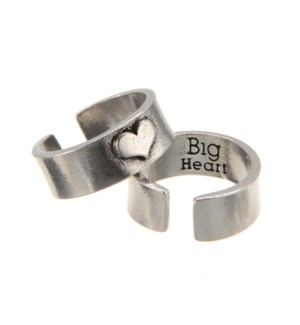 RING/Big Heart HOG Heart Ring