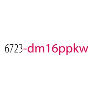 PPKW/Dean Top 16 No Disp*