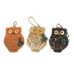 OWL/Ollie Owl 3pk Tray