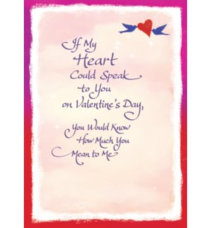 VAL/If My Heart Could Speak