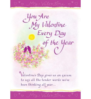VAL/You Are My Valentine