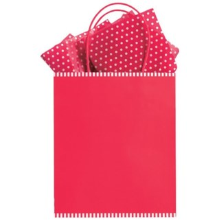 GIFTBAG/Peppermint red