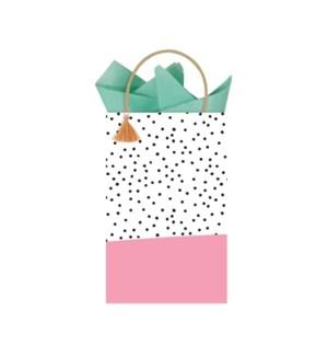 GIFTBAG/Spotted Pink Minikin