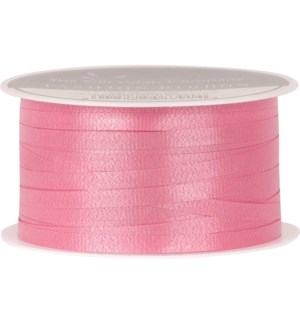 RIBBON/Pink Solid Curling