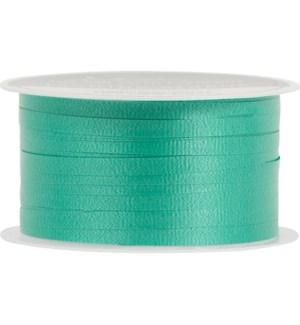 RIBBON/Green Solid Curling