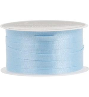 RIBBON/Lt Blue Solid Curling