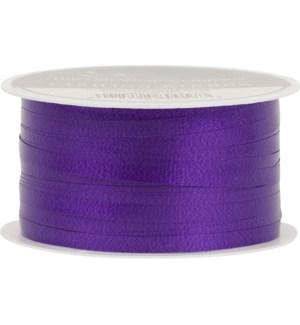 RIBBON/Purple Solid Curling
