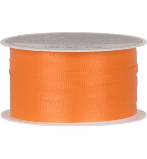 RIBBON/Orange Solid Curling