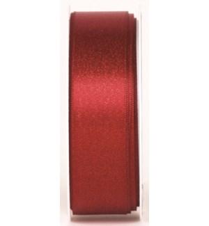 RIBBON/Glitter Satin Scarlet