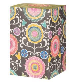GIFTBOX/Folk Floral Pillar Box