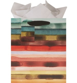 GIFTBAG/Saturated Stripes Med