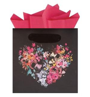 GIFTBAG/Floral Heart PS