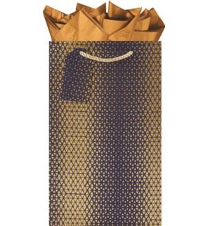BOTTLEBAG/GoldNavy Dbl Btl Bag