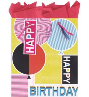 GIFTBAG/Birthday Print Large