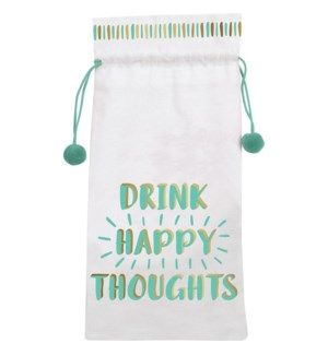 DRAWSTRINGBAG/Happy Thoughts