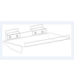 DISP/Clear Acrylic Shelf