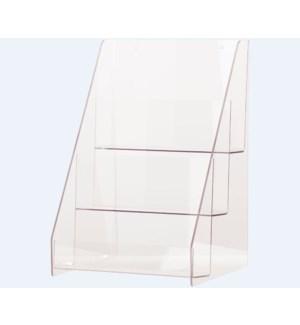 DISP/Clr Acrylic Shelving Unit