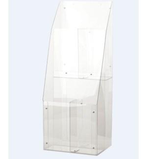 DISP/Clear Acrylic Wrap Unit