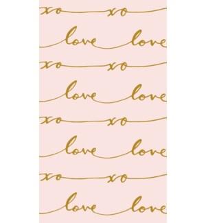 TISSUE/Love Signature Pattern