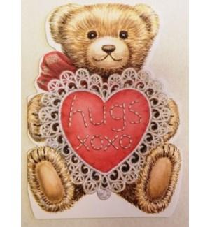 VAL/TEDDY BEAR HUGS