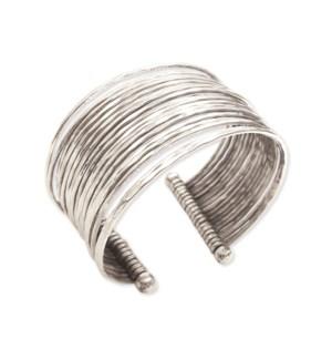 BRACELET/Hammered Silver