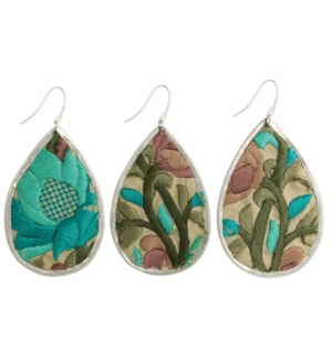 EARRING/Turquoise Flora