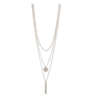 NECKLACE/Silver Charm Necklace