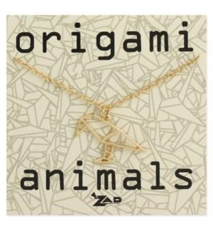 NECKLACE/Origami Crow