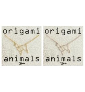 NECKLACE/Origami Llama