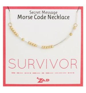NECKLACE/Survivor Morse Code