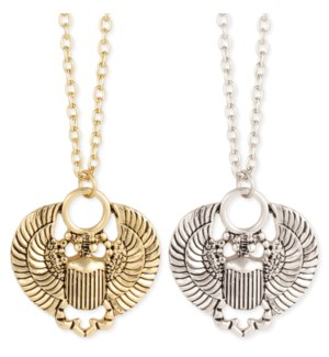NECKLACE/Flying Scarab