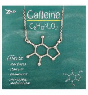 NECKLACE/Caffeine Molecule