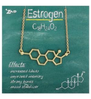 NECKLACE/Estrogen Molecule