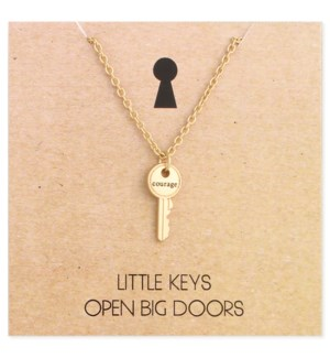 NECKLACE/Courage Key