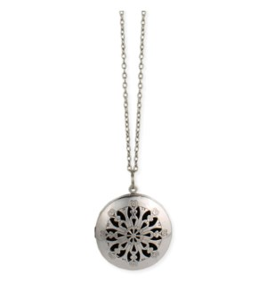NECKLACE/Silver Oil Diffuser