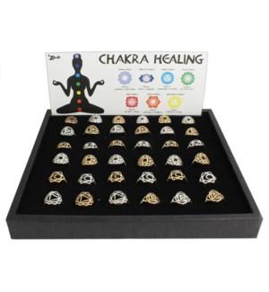 PPK/42 pcs Chakra Healing Ring