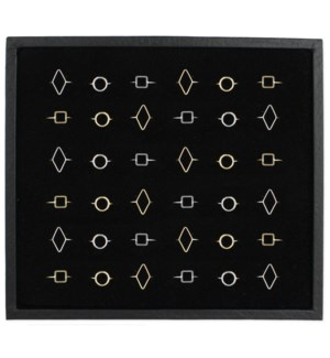 PPK/48 Pcs Wire Shapes Ring
