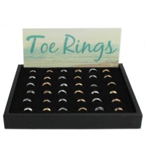 PPK/48 pcs Toe Ring