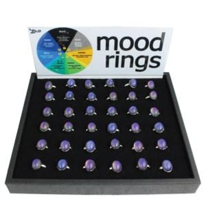 PPK/Oval Adjustable Mood Ring