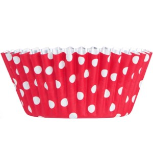 CUPAKE/White Dots On Red